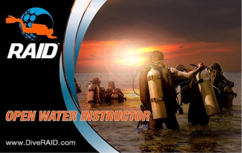 Divers choose to become a RAID Dive Instructor for a variety of reasons. For some, gaining their RAID Instructor qualification is simply about being able to share their passion